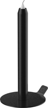 Afbeelding van Lunedot Unieke Kaarsenstandaard Inclusief 3 Kaarsen - Kaarsenhouder - Kaarsen Kandelaar - Zwart