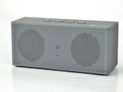 Grijze Pure Acoustics HIPBOXMINIGRY Portable bluetooth speaker met radio