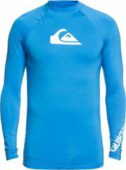 Quicksilver - UV-zwemshirt voor heren - Longsleeve - All Time - Helderblauw - maat S