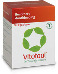 Vitotaal® Ginkgo Forte - 90 capsules - Voedingssupplement