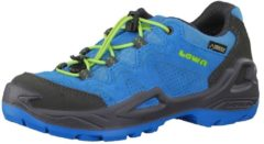 Outdoorschuhe Diego GTX Low mit Speed-Lace Fixierung 350154 Lowa blue lime
