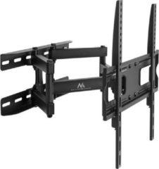 Zwarte Maclean Brackets MC-760 - TV Muurbeugel 26-55 inch tot 30 kg