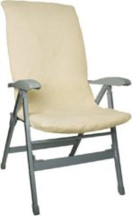 Marineblauwe Eurotrail Towelling Chair Cover M Foamed Navy Blue