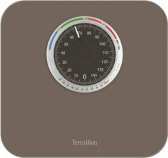 Taupe Terraillon Nautic UP - analoge weegschaal met BMI -functie