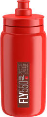 Elite - Fly 550 ml - Fietsbidon maat 550 ml, rood