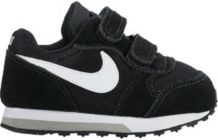 Grijze Nike MD Runner 2 (TDv) Sneakers Kinderen - Black/White-Wolf Grey