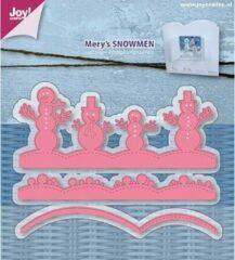 Roze Merkloos / Sans marque 6002/0952 Mery's Sneeuwman