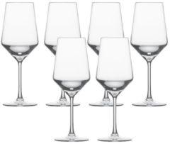 """Schott Zwiesel 112413 """"Pure"""" Rotweinglas / Cabernetkelch, 540ml, H 24,4cm, klar (1 Stück)"""