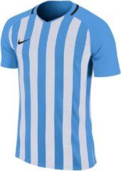 Nike Striped Division III FB Jersey Sportshirt - Maat XL - Mannen - blauw/wit