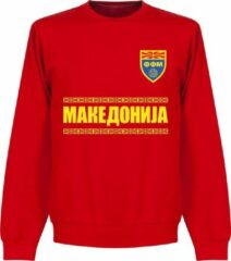 Retake Macedonië Team Sweater - Rood - XL