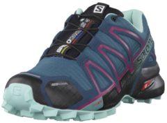 Trailrunningschuhe mit Schnürsenkeltasche 398433 Salomon Mallard Blue/Reflecting Pond/Eggshell Blue