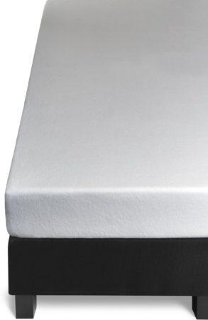 Afbeelding van Witte BH Beddinghouse Multifit - Stretch - Molton - Hoeslaken - Eenpersoons - 70/80x200/220 cm - White
