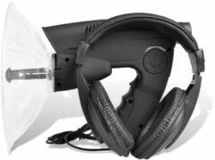 Grijze VidaXL Geluidsversterker - luister en observeer apparaat
