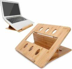 Bruine Davim Laptopstandaard - Bamboe