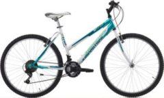 26 Zoll Cinzia X-Trail Damen Mountainbike 18 Gang Cinzia hellblau-weiß