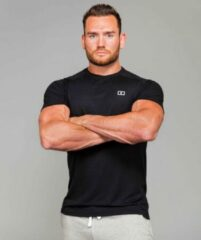 Marrald Performance Sportshirt | Zwart - XL heren fitness crossfit