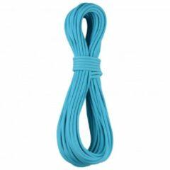 Blauwe Edelrid - Apus Pro Dry 7.9 mm - Half touw maat 40 m turkoois/blauw