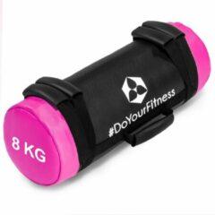 Roze #DoYourFitness® - Core Bag / Gewicht Bag »Carolous« van 5 kg tot 30 kg - 2 handgrepen en 1 riem - Kracht / fitness bag voor kracht-, uithoudings-, gevechts- en coördinatietraining 8kg