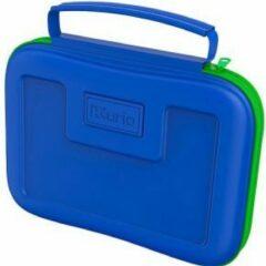 Kurio Beschermtas - C14902 tabletbehuizing met Opbergvak- Blauw