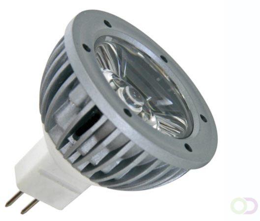Afbeelding van 1W LEDLAMP - NEUTRAAL WIT (3900-4500K) - 12VAC/DC - MR16