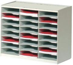 Paperflow Sorteerstation Grijs A4 500 Vel Polystyreen 67 4 x 30 8 x 54 8 cm