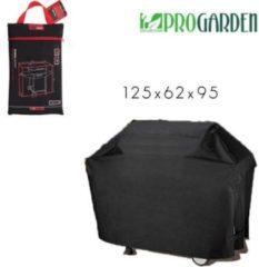 Zwarte Pro Garden ProGarden luxe rechthoekige BBQ hoes - 125x62x95 cm - Met opbergtas