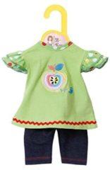 ZAPF CREATION poppenkleertjes afm. 38-46 cm, »Dolly Moda shirt met leggings«