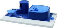 Trixie Dog Activity Poker Box Vario Strategiespel - Hondenspeelgoed - 32x17 cm Donkerblauw Wit Lichtblauw 1 stuk