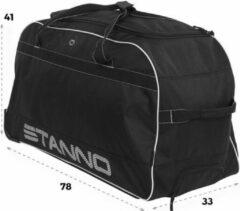 Zwarte Stanno Excellence Team Trolley Sporttas Unisex - One Size