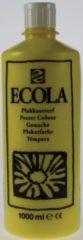 Plakkaatverf Talens ecola flacon van 1.000 ml, citroengeel
