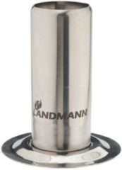 Landmann Selection rvs BBQ kiphouder met 250ml reservoir 10x12,5 cm