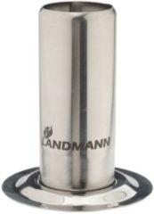 Landmann Selection rvs BBQ kiphouder met 250ml reservoir 10x12,5 cm