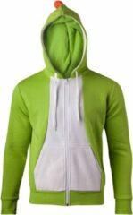 Nintendo Super Mario - Yoshi Novelty cosplay dames hoodie vest met capuchon groen - M