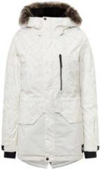 O'Neill - Women's Zeolite Jacket - Ski-jas maat L, wit/grijs