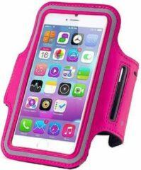 Samsung Galaxy A5 sports armband case Donker Roze Dark Pink