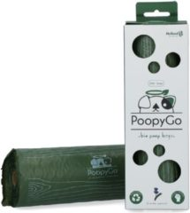 Poopygo Poepzakjes Lavendelgeur Tissue Box - Hondenpoepzakjes - 21X33 cm Groen Wit 300 stuks
