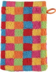 Cawö Lifestyle Cubes Babywashandje multicolor 16x22