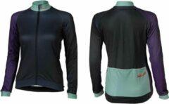 XLC - Fietsshirt Race Lange Mouw - Dames - Blauw/Paars - Maat XL