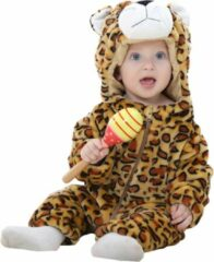 Witte JAXY Baby Onesie - Baby Rompertjes - Baby Pyjama - Baby Pakje - Baby Verkleedkleding - Baby Kostuum - Baby Winterpak - Baby Romper - Baby Skipak - Baby Carnavalskleding - 18-24 Maanden - Luipaard
