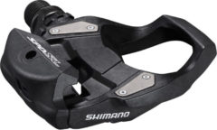 Zwarte Shimano Ultegra PD-RS500 SPD-SL racefietspedalen - Klikpedalen