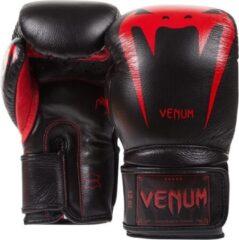 Rode Venum Giant 3.0 Boxing Gloves Black / Red-14 oz.