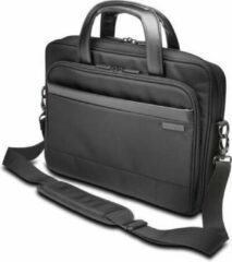 Kensington Contour 2.0 Executive Laptop Shoudertas - Geschikt Voor 14 Inch Laptop - Polyester - Duurzaam, Waterafstotend Materiaal - Ergonomisch - Zwart - 1 Stuk