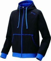 Yonex Trainingspak Hoody 32010ex Unisex Zwart/blauw Maat S