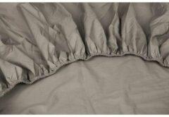 Dubbel Jersy Dubbel Jersey Hoeslaken Extra Dikke kwaliteit | 160x200 / 220 cm - Taupe | 100% Zacht Comfort Katoen
