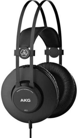 Afbeelding van AKG Harman K52 Studio Over Ear koptelefoon Zwart