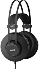 AKG Harman K52 Studio Over Ear koptelefoon Zwart