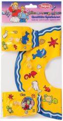 Heless Poppenzwemband En Zwemvleugels Blauw 35-45 Cm