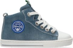 Develab Jongens Hoge sneakers 41469 - Blauw - Maat 24