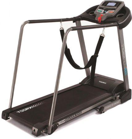 Afbeelding van Rode Toorx Fitness Loopband Toorx Walker EVO - Met handrails - LCD display - Geschikt voor revalidatie