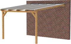 Woodvision Douglasvision   Veranda 400x350   Heldere dakplaat
